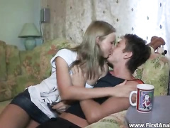 Olga does the craziest oral and anal fuck show