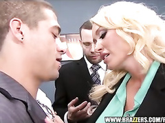 Buxom hot blonde Summer Brielle Taylor loved hardcore fuck in office